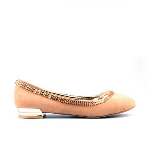 дамски ежедневни обувки бежови 0122403