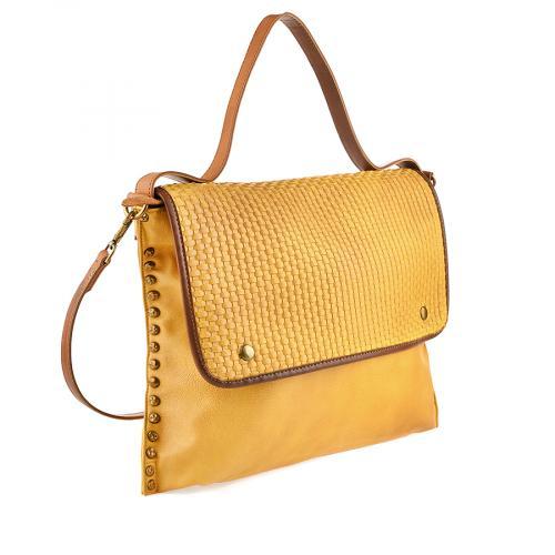 дамска ежедневна чанта жълта 0140130
