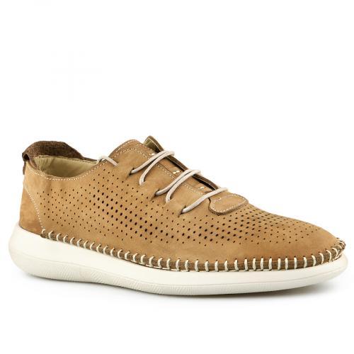мъжки ежедневни обувки кафяви 0141149
