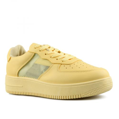 дамски ежедневни обувки жълти 0142657