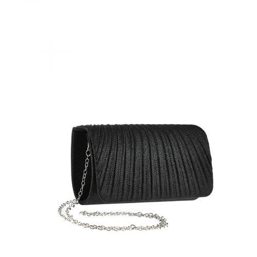 дамска елегантна чанта черна 0143811