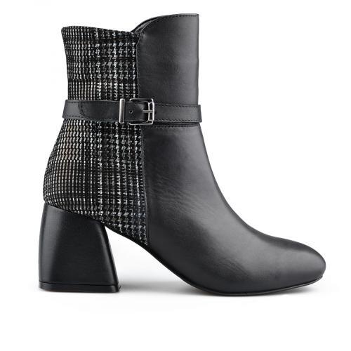 дамски елегантни боти черни 0139410