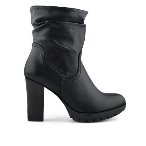 дамски елегантни боти черни 0138691