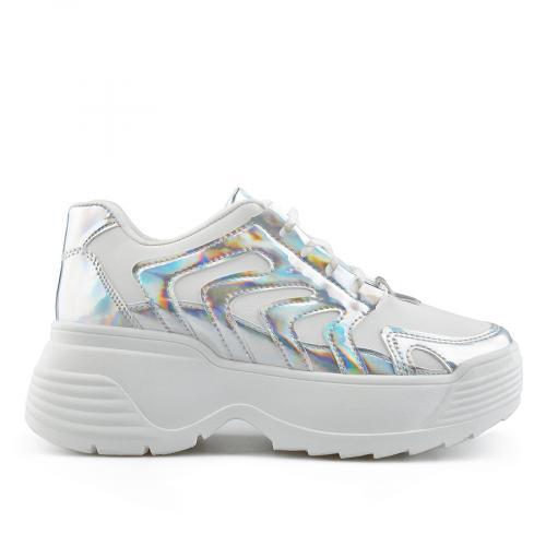 дамски ежедневни обувки бели 0138922