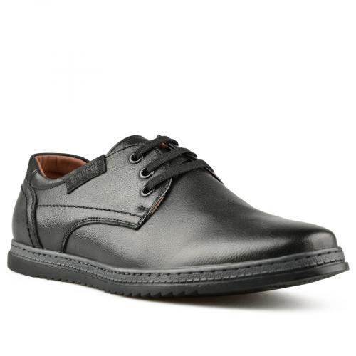 мъжки ежедневни обувки черни 0144801