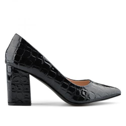дамски елегантни обувки черни 0138996