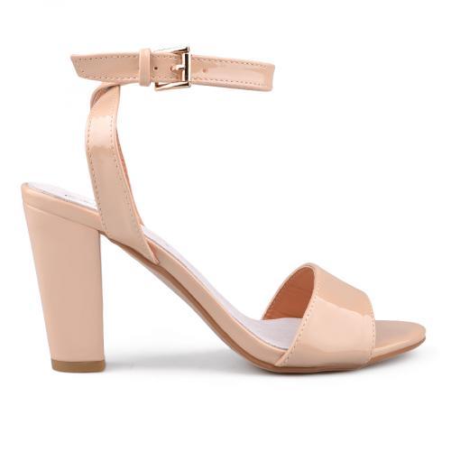 дамски елегантни сандали бежови 0134066