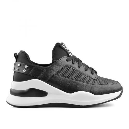 дамски ежедневни обувки черни 0139398