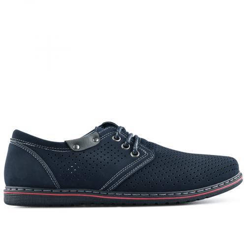 мъжки ежедневни обувки сини 0140277
