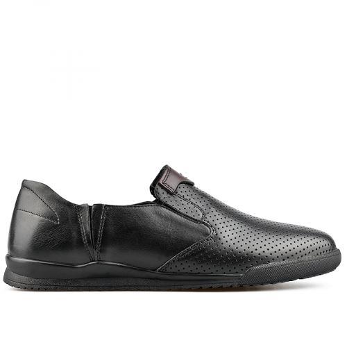 мъжки ежедневни обувки черни 0138287