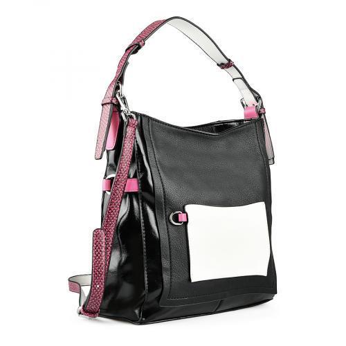дамска ежедневна чанта черна 0143523