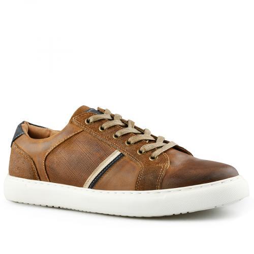 мъжки ежедневни обувки кафяви 0140738