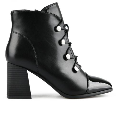 дамски елегантни боти черни 0141610