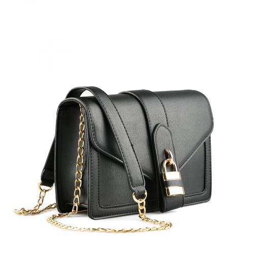 дамска ежедневна чанта черна  0139914