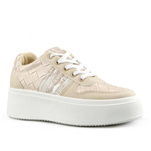 дамски ежедневни обувки бежови 0142792