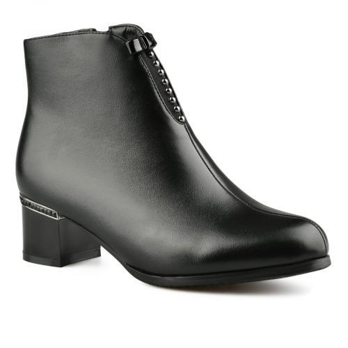 дамски елегантни боти черни 0141580