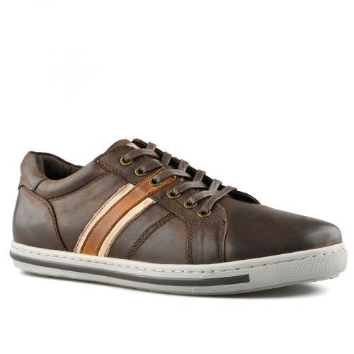 мъжки ежедневни обувки кафяви 0140747