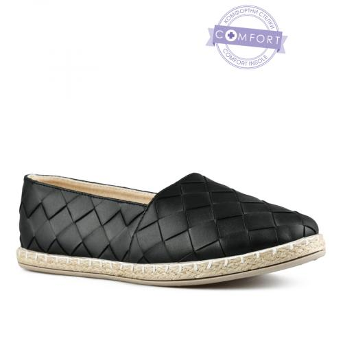 дамски ежедневни обувки черни 0142978