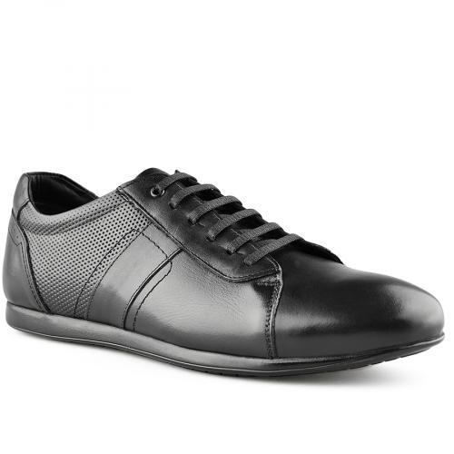 мъжки ежедневни обувки черни 0141211