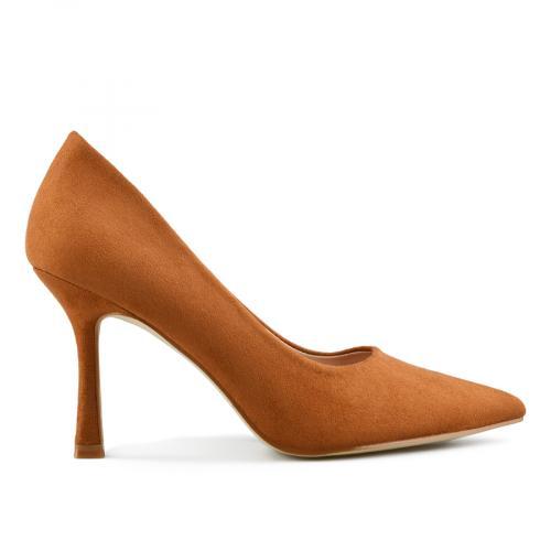 дамски елегантни обувки кафяви 0143249