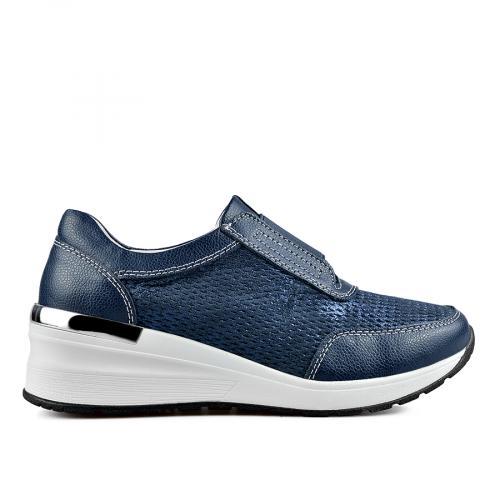 дамски ежедневни обувки сини 0137227
