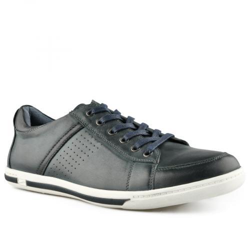 мъжки ежедневни обувки сини 0140755