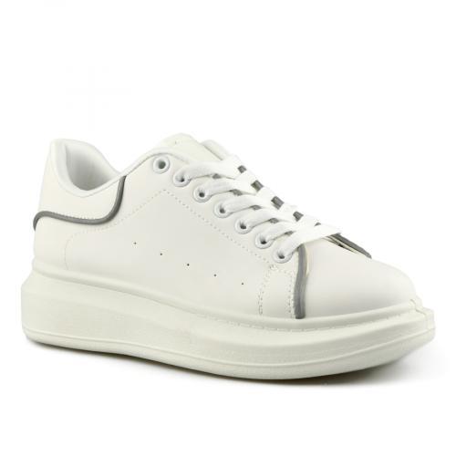 дамски ежедневни обувки бели 0142037