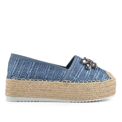дамски ежедневни обувки сини 0137867