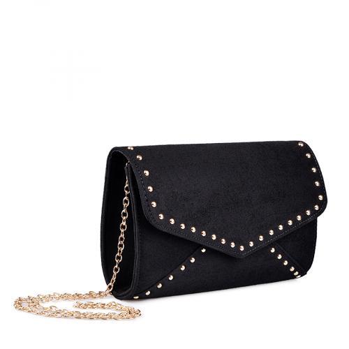 дамска елегантна чанта черна 0134371