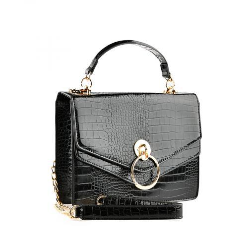 дамска ежедневна чанта черна  0139906