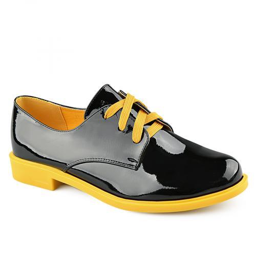 дамски ежедневни обувки черни 0141655