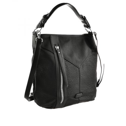 дамска ежедневна чанта черна 0140855