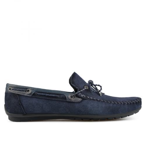 мъжки ежедневни обувки сини 0138278