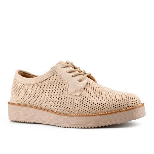 дамски ежедневни обувки бежови 0143450