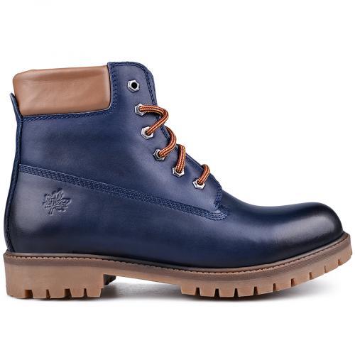 мъжки ежедневни боти сини 0134950