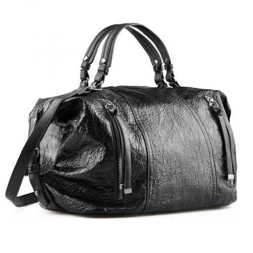 дамска ежедневна чанта черна 0141704