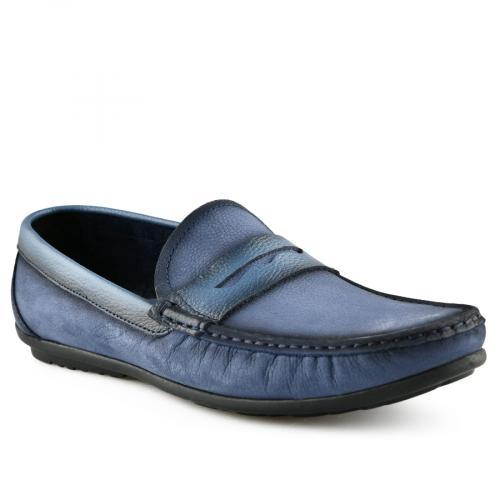 мъжки ежедневни обувки сини 0141235