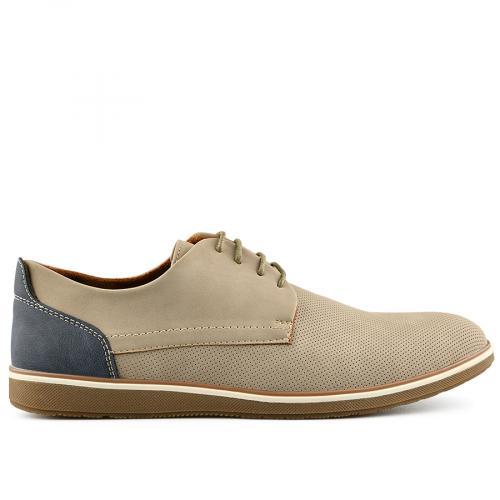 мъжки ежедневни обувки бежов 0140548