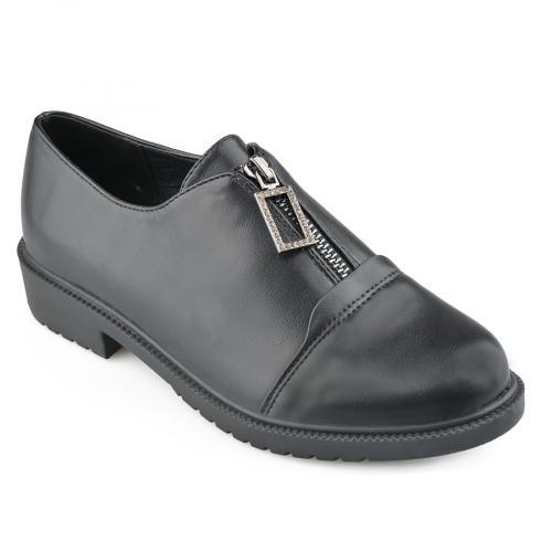 дамски ежедневни обувки черни 0139176
