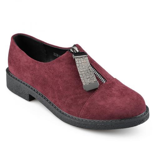 дамски ежедневни обувки червени 0139254