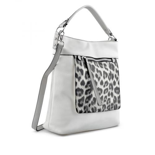 дамска ежедневна чанта бяла 0137150
