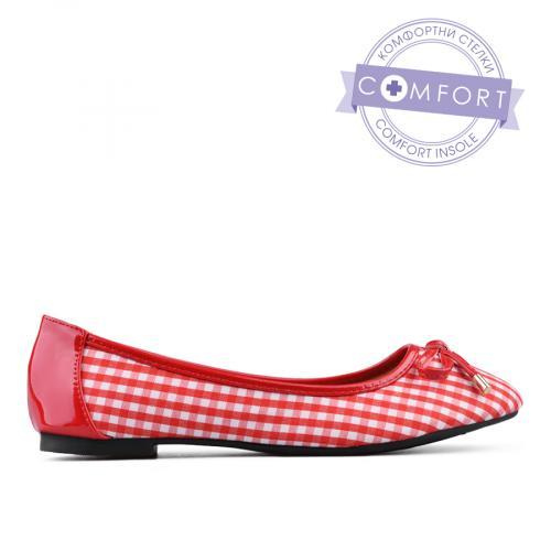дамски ежедневни обувки червени 0133812