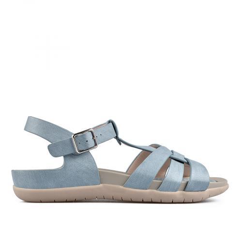 дамски ежедневни сандали сини 0137312