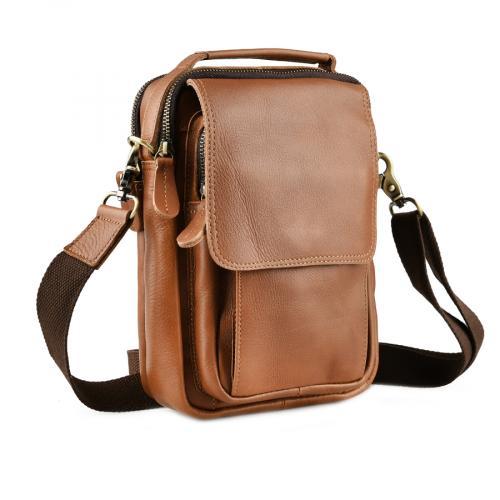 мъжка ежедневна чанта кафява 0143861
