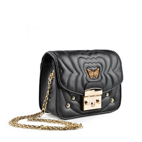 дамска ежедневна чанта черна 0136787