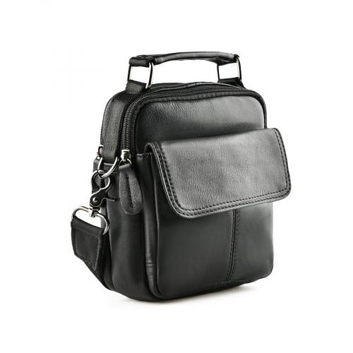 мъжка ежедневна чанта черна 0140947