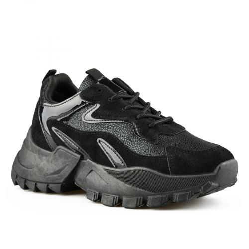 дамски ежедневни обувки черни 0141528