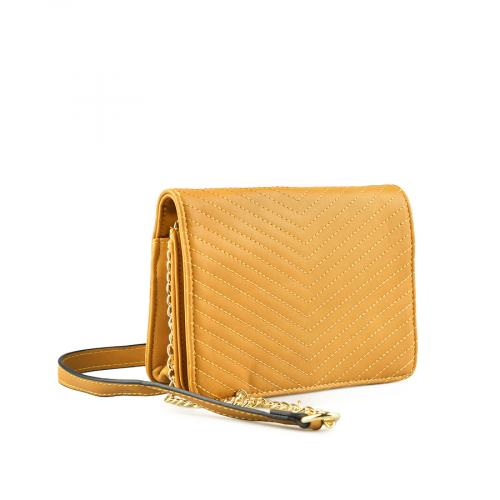 дамска ежедневна чанта жълта 0145131