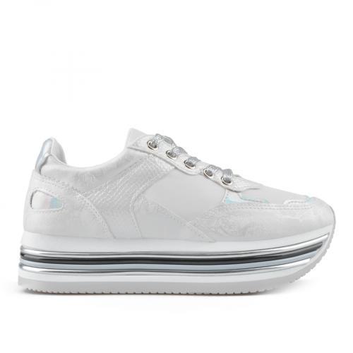 дамски ежедневни обувки бели 0136866