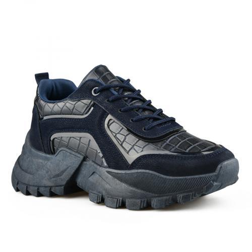 дамски ежедневни обувки сини 0141527